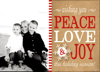 2013 Holiday Card Options