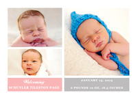 Birth Announcement Samples